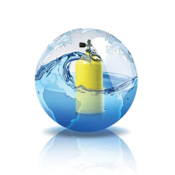Application sur Blocs et bouteilles de plongée