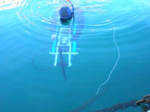 Caisson hyperbare pour appareil de mesure CNRS